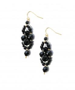 Pimelia Earrings Black