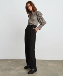 Drew Linen Shirt Check