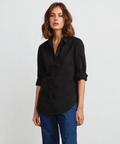 Enza Shirt Black