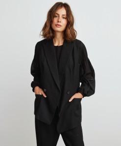 Holly Vest Black