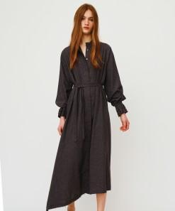Jourden Dress Charcoal