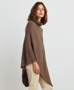 Michelle Wool & Cashmere Wrap Bark