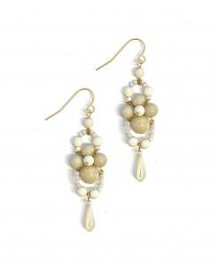 Pimelia Earrings Cream