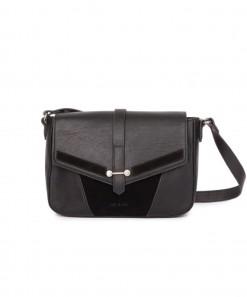 Paola Leather Bag Black