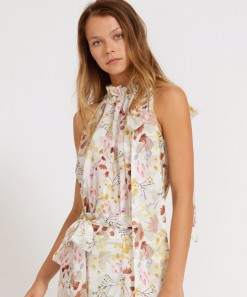Andreas Top Willow Print
