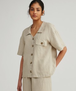 Carrie Linen Shirt Natural