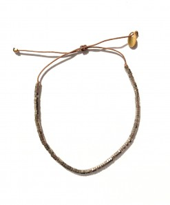 Cassandre metallic bracelet Grey