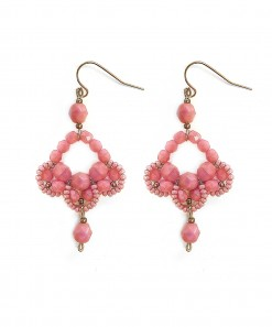 Dianthus Earrings Pink
