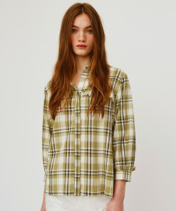 Dolly Shirt Olive Check