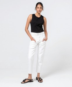 Eddison Denim Jean White