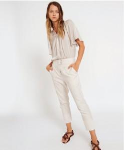 Heston Linen Pant Stone