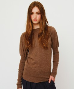 Ida Merino Wool Pullover Earth