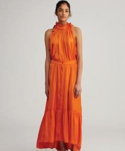 Imogen Skirt Poet Tangerine
