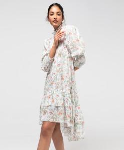 Issey Dress & Slip Print