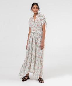 Issey Shirt Dress Print