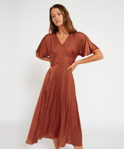 Jana Dress Poet Wine