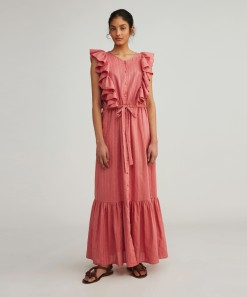 Kirsty Dress Rose