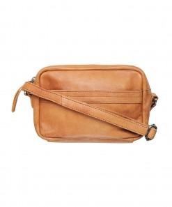Kita Leather Bag Cognac