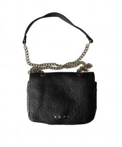 Louise Leather Bag Black