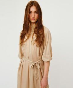 Lyra Dress & Slip Natural