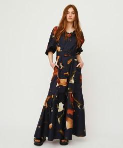 Magnolia Dress Print