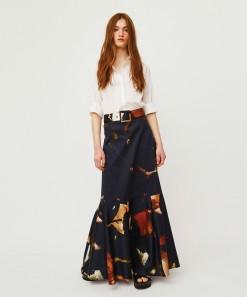 Magnolia Skirt Print