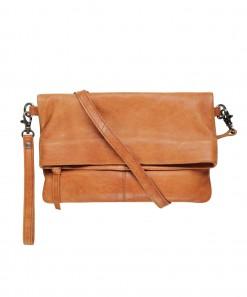 Mara Leather Bag Cognac
