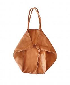 Monti Leather Bag Cognac