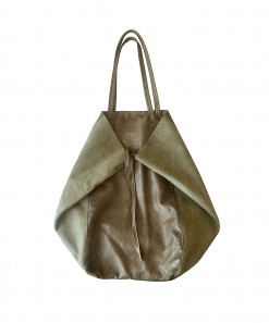 Monti Leather Bag Olive
