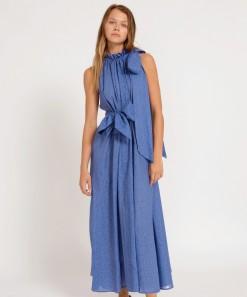 Neve Maxi Dress Azure