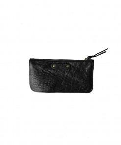 Nina Leather Wallet Black