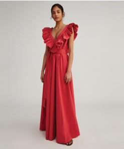 Rita Maxi Dress Scarlet