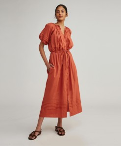 Senna Dress & Slip Clay