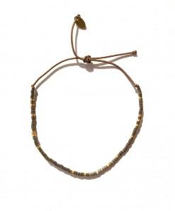 Skinny bracelet Anthracite