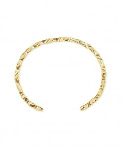 Textured Cuff Gold