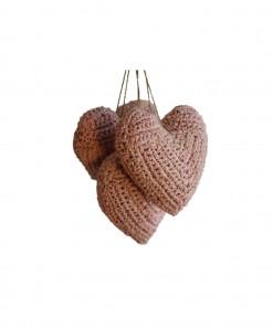 Hanging Heart Light Pink