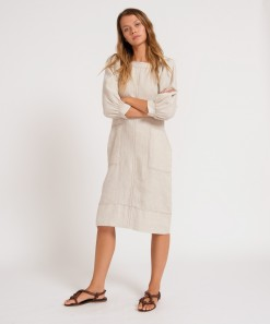 Yoko Linen Dress Natural