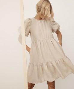 Ariya Linen Dress Shell