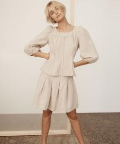 Ariya Linen Skirt Shell