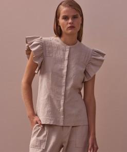 Bronwyn Shirt Stone