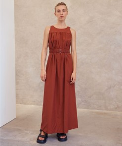 Cecile Dress Clay