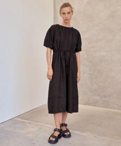 Sammy Linen Dress Black