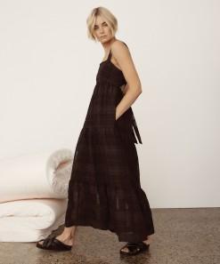 Willow Dress Black Check