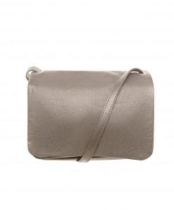 Cody Leather Shoulder Bag Mushroom