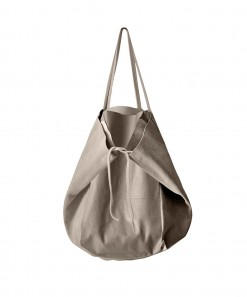 Monti Leather Bag Mushroom
