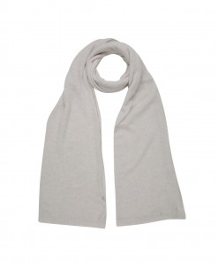 Theodore Cashmere Scarf Light Grey