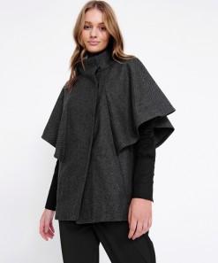 Percy Jacket Grey/Black