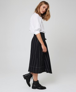 Kimora Skirt Black Stripe