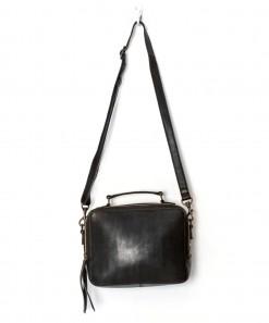 Berlin Leather Bag Black