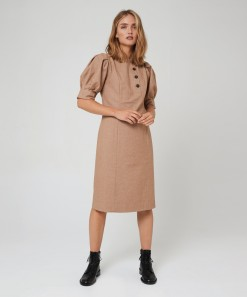 Isabella Dress Caramel